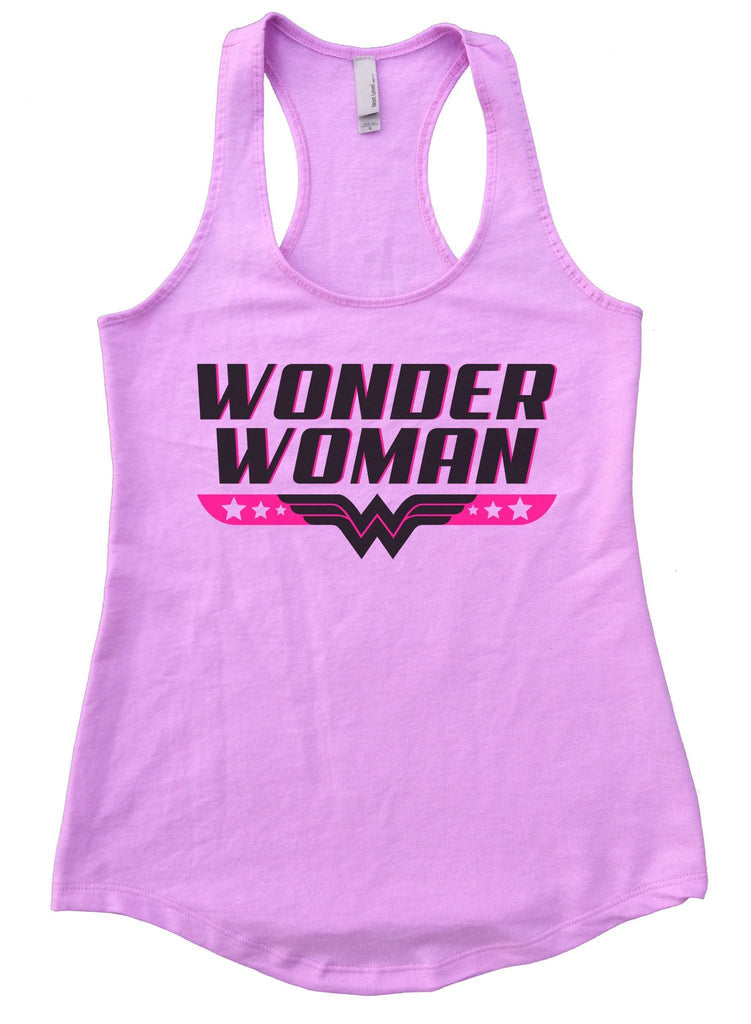 Wonder Woman Womens Workout Tank Top Funny Shirt Small / Lilac