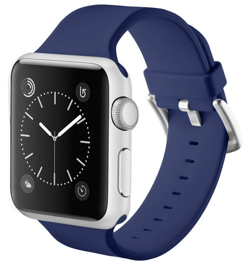 apple watch dark blue strap