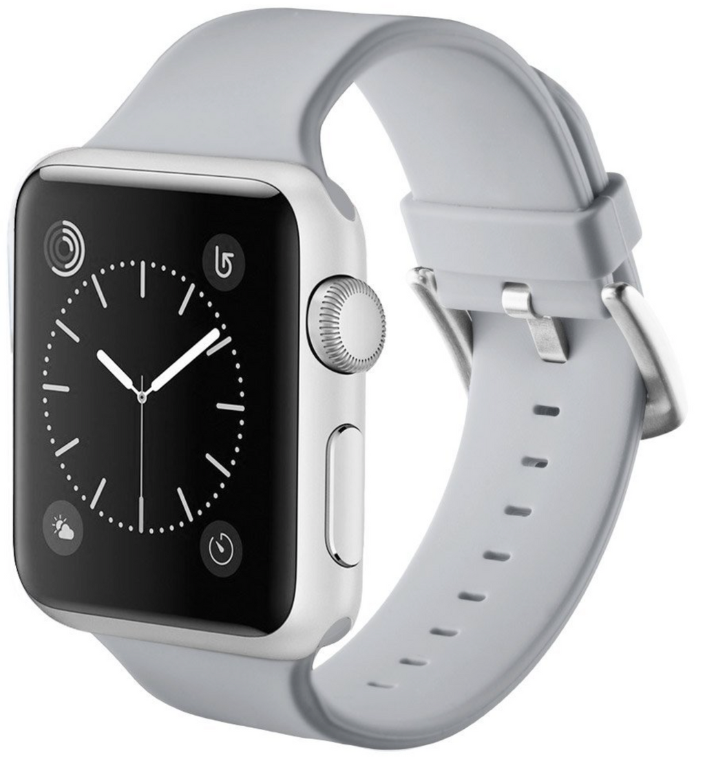apple watch gray strap