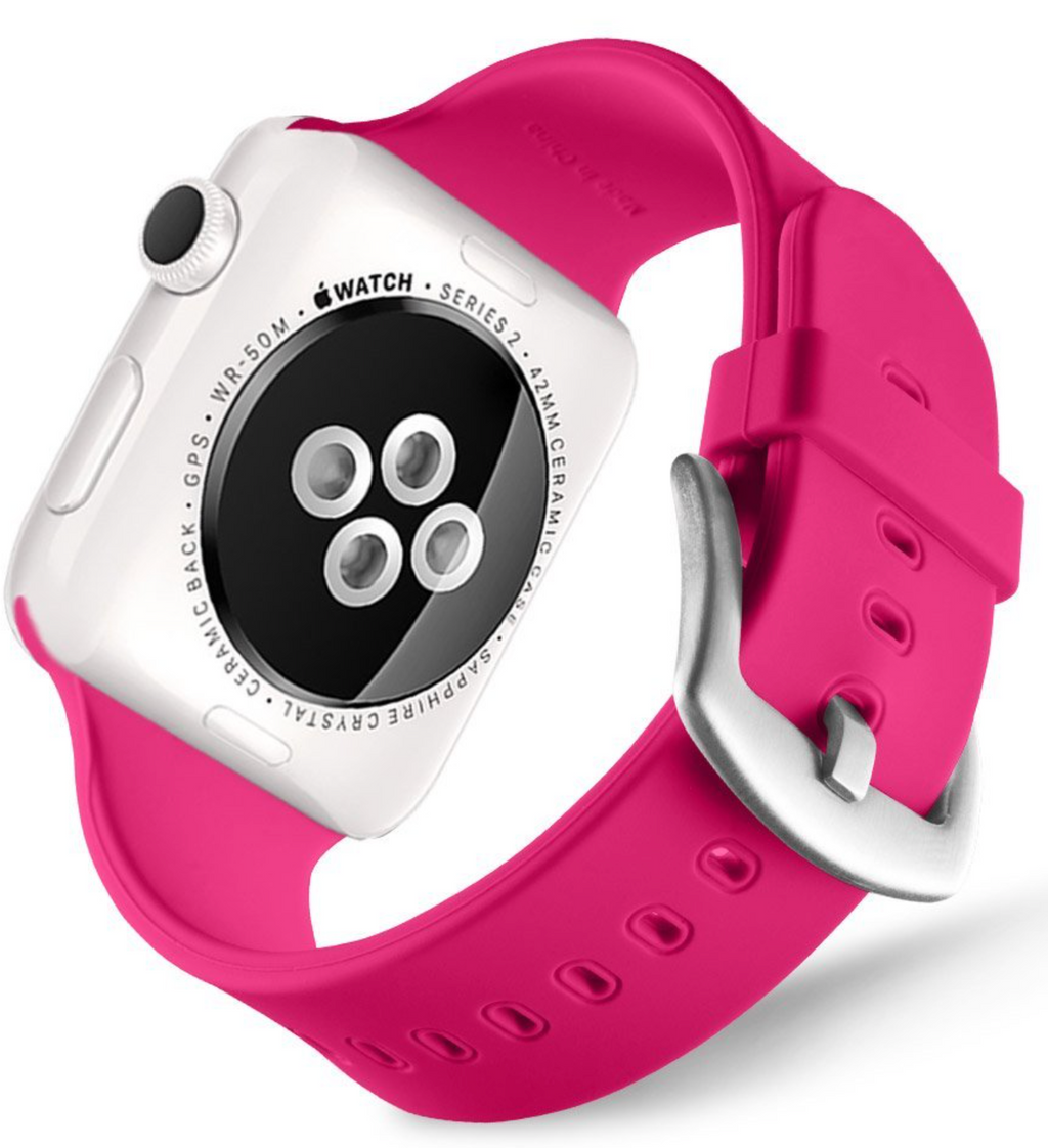 apple watch hot pink strap