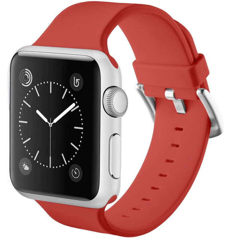 apple watch red strap