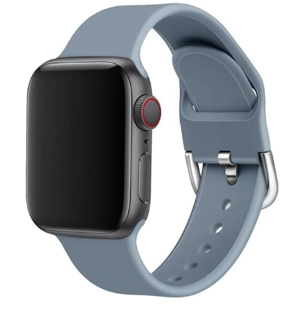 apple watch sports loop gray strap