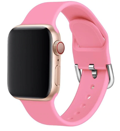 apple watch sports loop pink strap