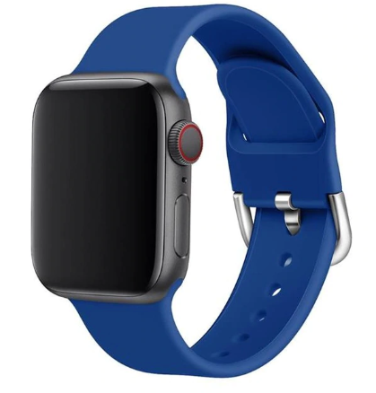 apple watch sports loop royal blue strap