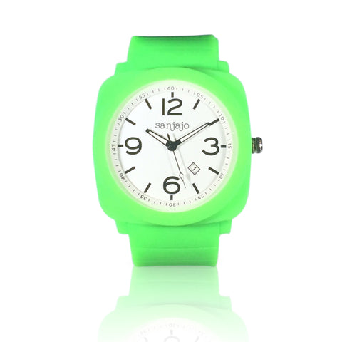 sanjajo floridian green watch