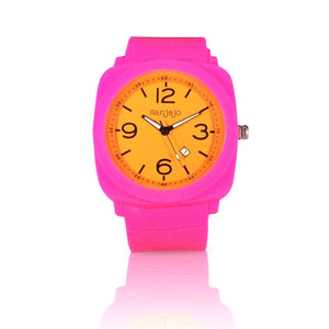 sanjajo floridian orange watch