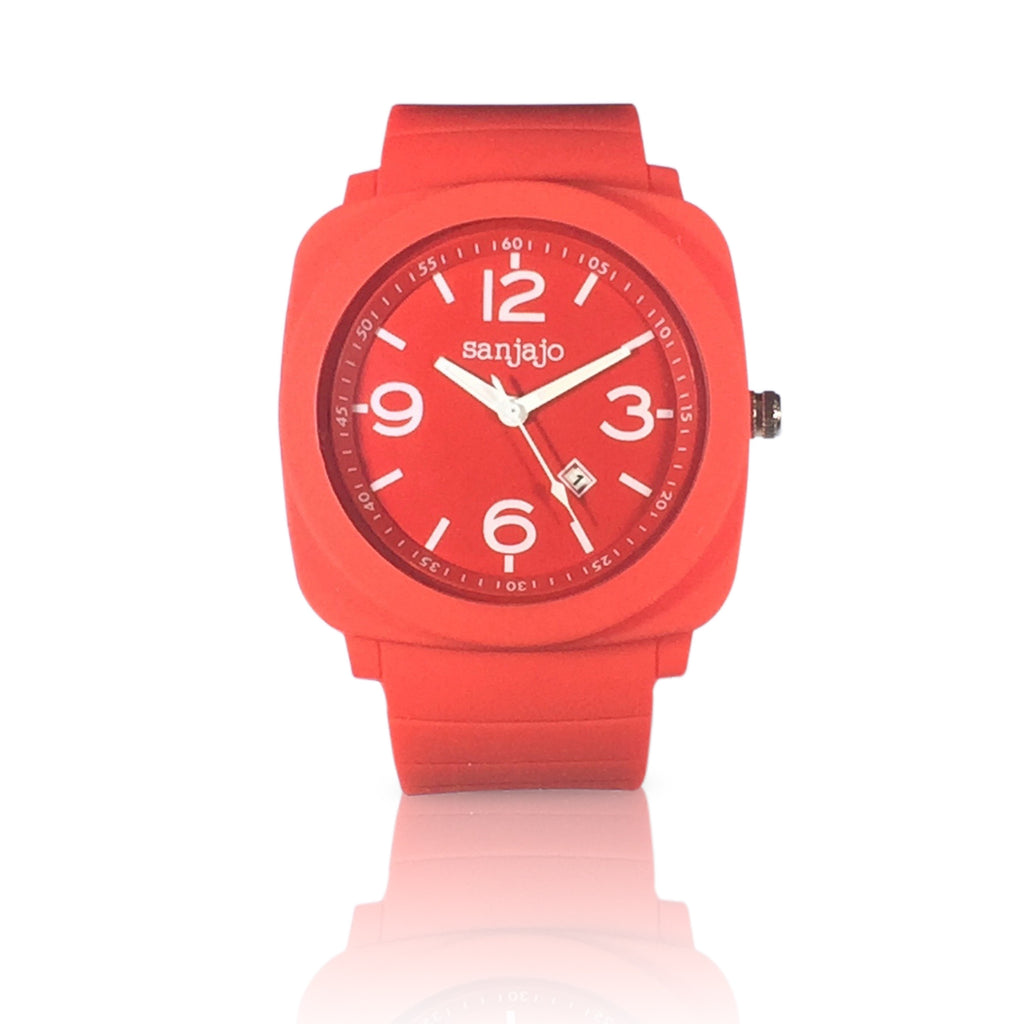sanjajo floridian red watch