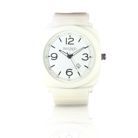sanjajo floridian white watch