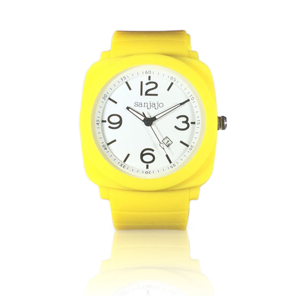 sanjajo floridian yellow watch