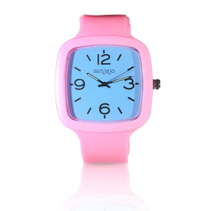 sanjajo the mar light blue watch