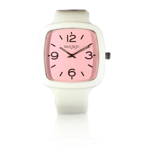 sanjajo the mar pink watch