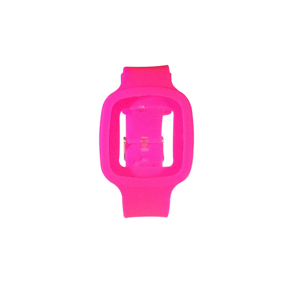 the mar hot pink watch strap