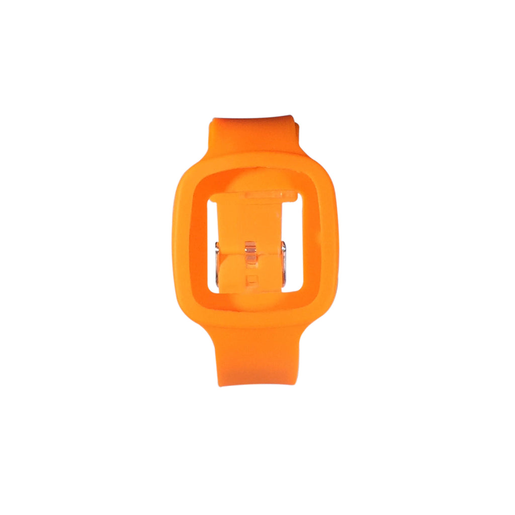 the mar orange watch strap
