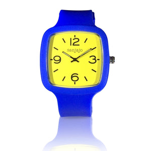 sanjajo the mar yellow watch