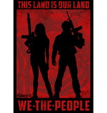 "We The People - 2""x3"" Vinyl Decal - Liberty 13  - 1"
