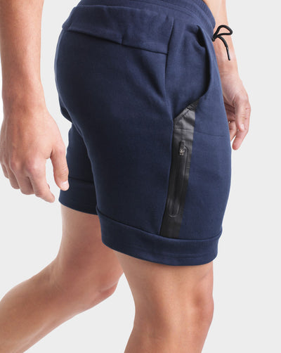 CrossFleece MK.II Shorts - Navy