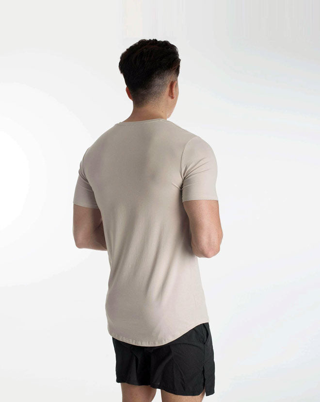 Athleti Fit Tee - Stone