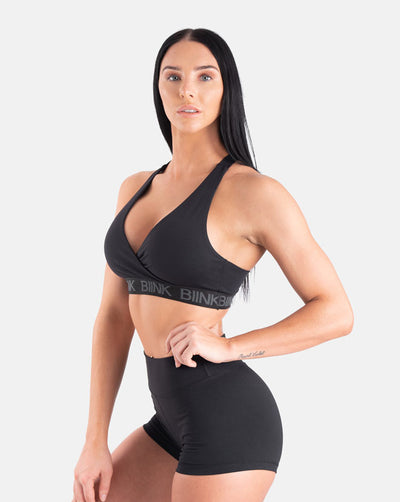 Action Sports Bra - Black