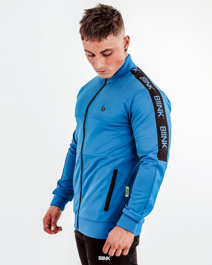 Tri-Panel Training Jacket - Electric Blue