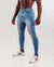 Slim-Stretch Jeans - Light Blue (Ripped)