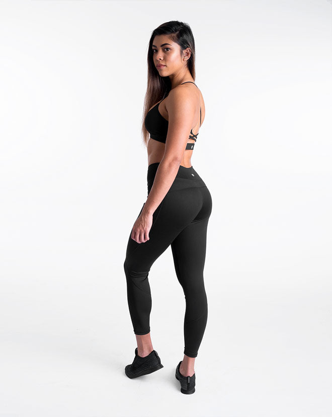 Contour Athleisure Set - Black