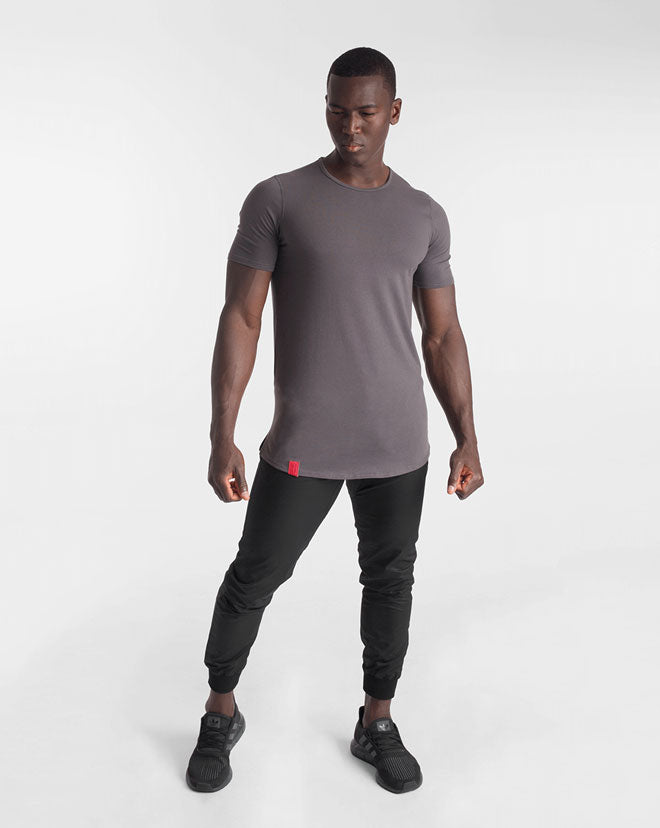 Cardinal V2 Scoop Tee - Ash Grey