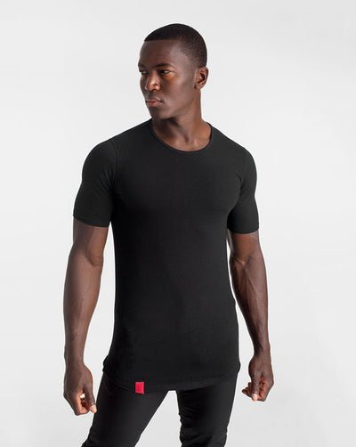 Cardinal V2 Scoop Tee - Black