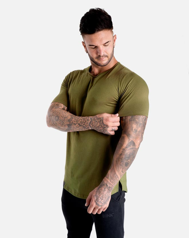 Cardinal V2 Scoop Tee - Military Green