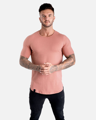 Cardinal V2 Scoop Tee - Rose Taupe