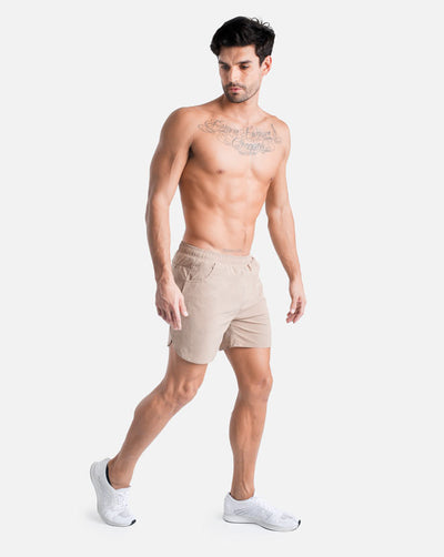 BIINKDRY 2-in-1 Training Shorts MK.II - Desert Sand