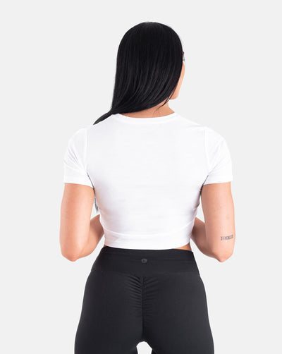 BIINK Crop Top - White