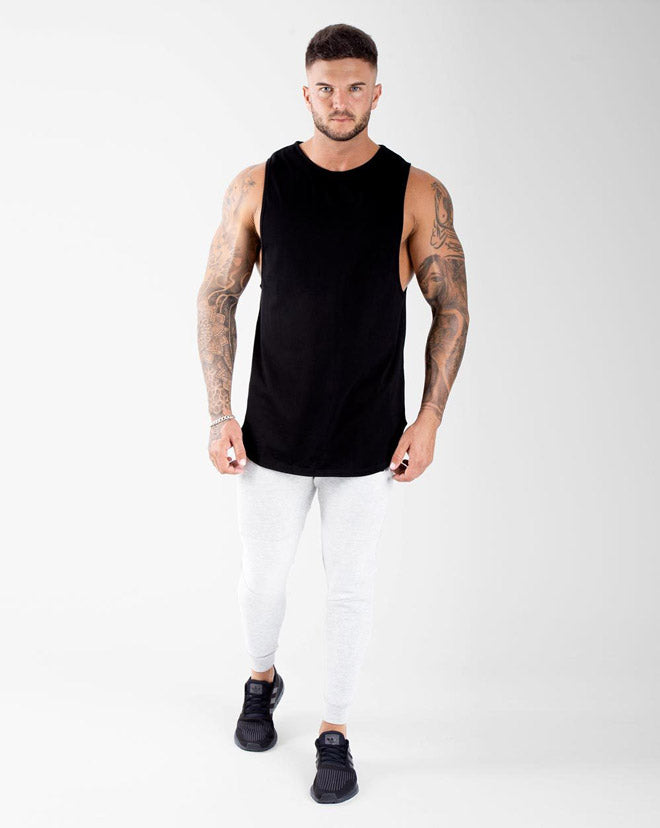 Cut-Off Tank - Black
