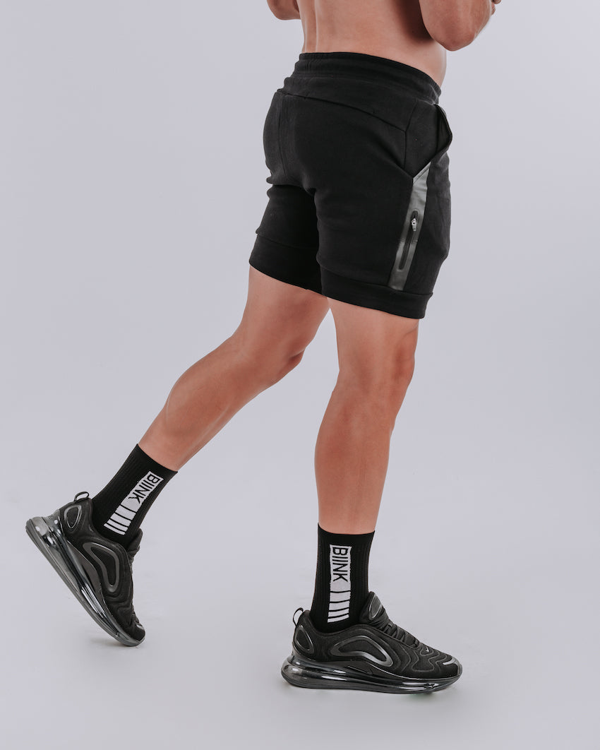 CrossFleece MK.II Shorts - Black