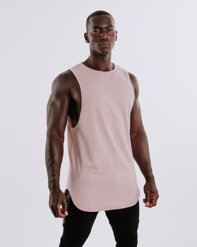 Cut Off Tank - Rose Taupe