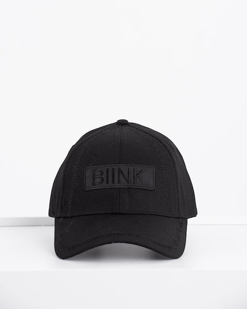BIINK Logo Embroidery Cap - Triple Black