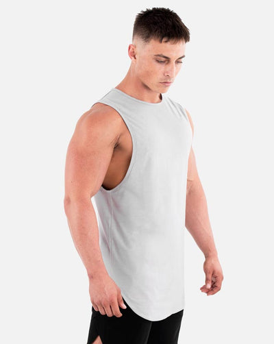 Cut-Off Tank - Cloud Grey