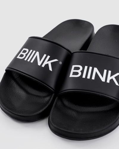 Unisex Athleisure Slides - Black