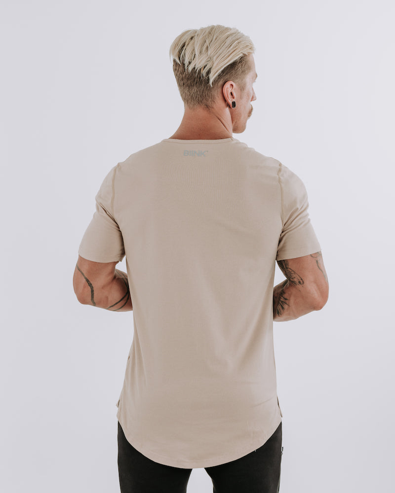 Cardinal V2 Scoop Tee - Tan