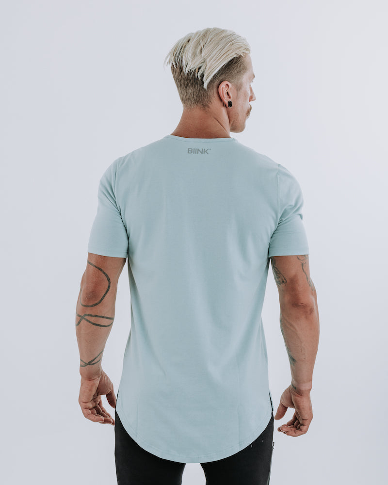 Cardinal V2 Scoop Tee - Peppermint