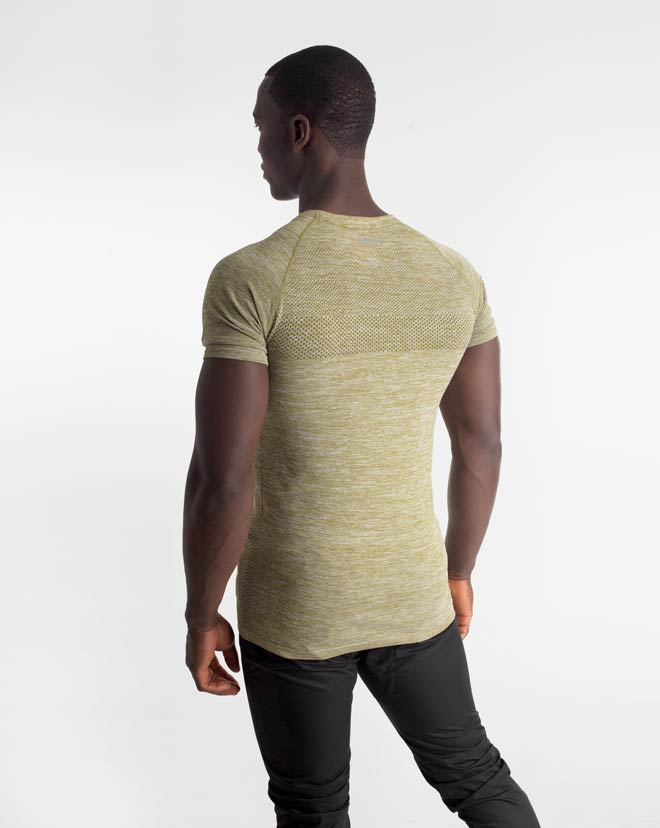 Seamless Knit Shirt - Military