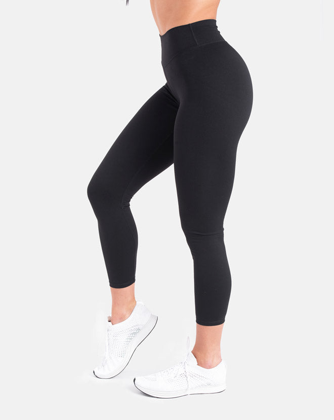 Scrunch Leggings - Black