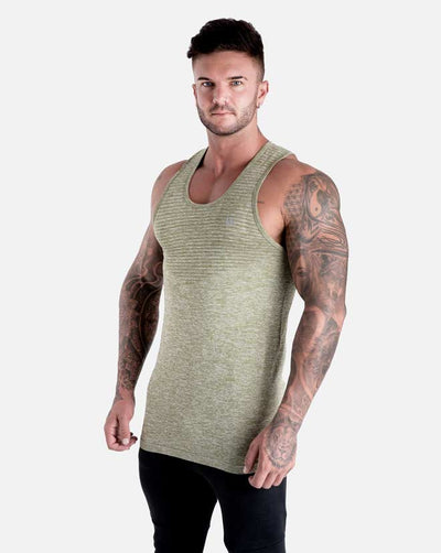 Seamless Knit Tank - Military