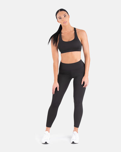 Staple Mesh Leggings - Black