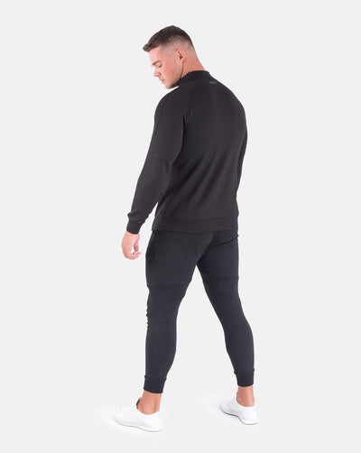 Techweave Zip-Up - Black