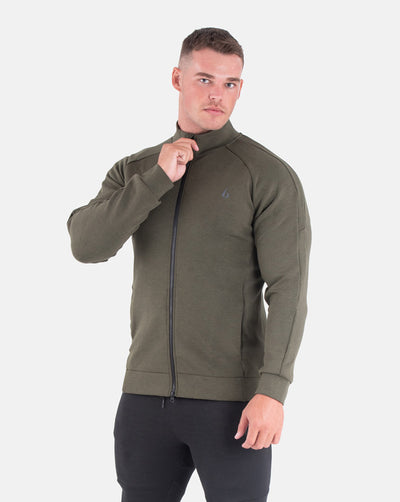 Techweave Zip-Up - Forest Green