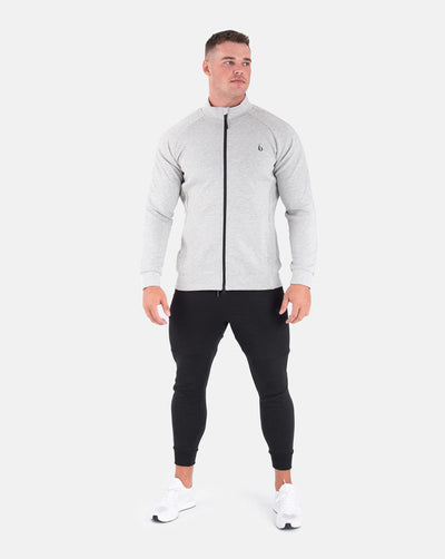 Techweave Zip-Up - Marl Grey