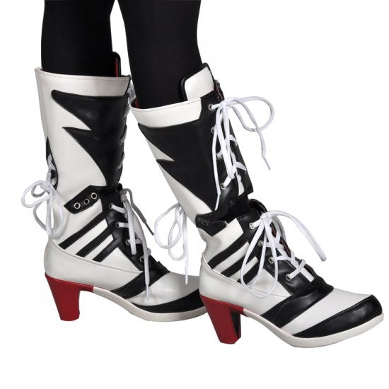 dae5f193e456 Suicide Squad Harley Quinn Shoes Boots – YOYO
