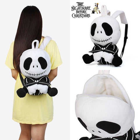 Jack Skellington Plush Backpack - 50% OFF + FREE SHIPPING