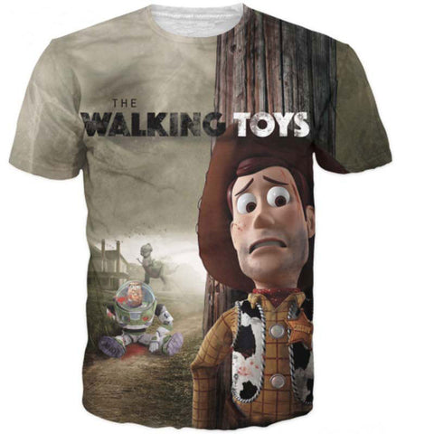 Walking Toys T-Shirt - 60% OFF + FREE SHIPPING