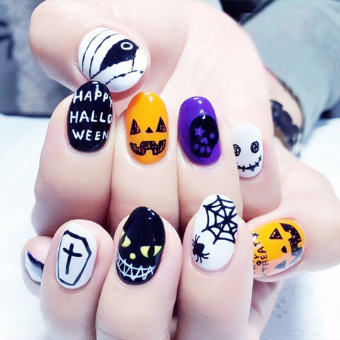 Special Halloween Nail Stickers - 50% OFF + FREE SHIPPING